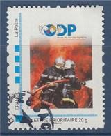 = Sapeurs Pompiers De L'Essonne Timbre LP Validité Permanente Oblitéré Cadre MonTimbraMoi - France
