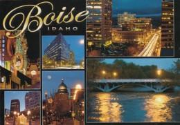 Idaho Boise At Night Multi View - Boise