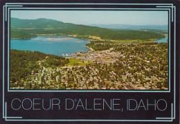 Idaho Coeur D' Alene Panoramic View - Coeur D'Alene