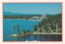 Idaho Lake Coeur D' Alene Showing Tubbs Hill - Coeur D'Alene