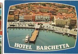 CPSM, Th Rest., Hotel Barchetta , Desenzano Del Garda , Ed. V.F. - Alberghi & Ristoranti