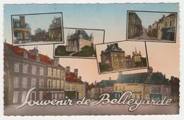 45 Bellegarde Entre Montargis Et Orléans En 5 Vues Edit CHABE Café Tabac - Montargis