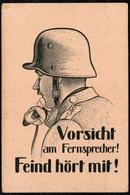 B6627 - Propaganda 2. WK WW - Fernmelder - Guerre 1939-45