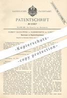 Original Patent - Robert Barkowski , Hammersmith / London , England , 1889 , Regenerativgaslampe | Gaslampe , Gas Lampe - Documents Historiques