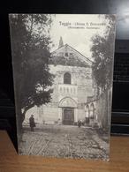 CARTOLINA POSTALE TAGGIA CHIESA DI S.DOMENICO MONUMENTO NAZIONALE FORMATO PICCOLO AK CPA - Autres Villes