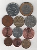 Lituanie - 11 Monnaies - UK/067 - Lithuania