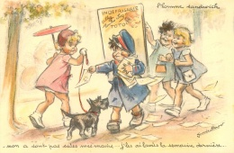 GERMAINE BOURET EDITION EAEC   L'HOMME SANDWICH - Bouret, Germaine