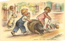 GERMAINE BOURET EDITION EAEC   V'LA L'TONNELIER - Bouret, Germaine
