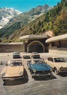 Exposition De Voitures FIAT Coupé Et Cabriolet Au Tunnel Du Mont Blanc - Voitures De Tourisme