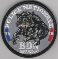 Écusson Police BDN Guyancourt (78) - Police