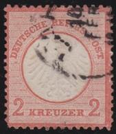 Deutsches  Reich   .    Michel   .   8       .     O     .     Gebraucht   .   /     .    Cancelled - Deutschland