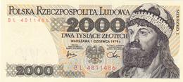 Poland - 2000 Zlotych 1979 - UNC - Pologne