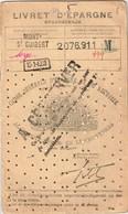 Livret D'Epargne - Spaarboekje - Caisse Générale D'Epargne Et De Retraite 1947-1974 -Mont-Saint-Guibert - Banque & Assurance