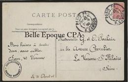 75 - PARIS - Les Travaux Du Métro - Pont Au Change ++++ ELD ++++ 1906 ++++ Métropolitain - Métro Parisien, Gares