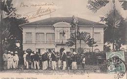 Orchestre Devant La Résidence De Penom Penh Cambodge Musiciens Cambodgiens Pnom-Penh Indochine Cambodia - Cambodia