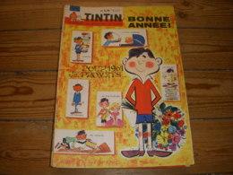 TINTIN 636 29.12.1960 CALENDRIER 1961 CINEMA ALAMO CYCLISME Roger RIVIERE - Tintin