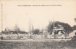 Entrée Du Palais Du Roi De Pnom-Penh Fievet 132 Cambodge Indochine Phnom-Penh Palais Royal Asie - Cambodia