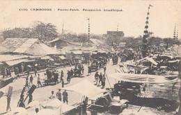Pnom-Penh - Procession Boudhique Fievet N°100 Cambodge Indochine Phnom-Penh Fête Bouddhisme - Cambodia