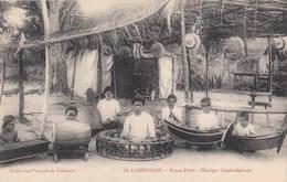 Pnom-Penh - Musique Cambodgienne Poujade De Ladevèze N°35 Cambodge Indochine Cambodia Phnom-Penh Danse - Cambodia