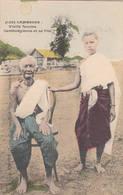 Vieille Femme Cambodgienne Et Sa Fille Fiévet N° 139 Cambodge Indochine Cambodia Pnom-Penh - Cambodia