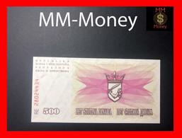 BOSNIA 500 Dinara 1.7.1992  P. 14 UNC - Bosnia Y Herzegovina