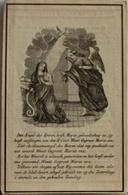 D.p Petrus Joannes Van Berckelaer Contich-beggynhof Lier 1849 - Images Religieuses