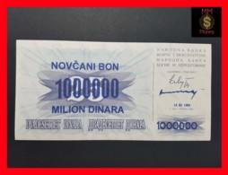 BOSNIA 1.000.000 1000000  Dinara 10.11.1993 P. 35 B  UNC - Bosnië En Herzegovina
