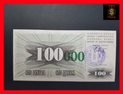 BOSNIA 100.000 Dinara  24.12.1993 P. 54 E Sarajevo  UNC - Bosnia Y Herzegovina