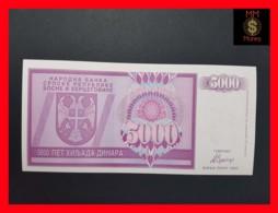 BOSNIA 5.000 5000 Dinara 1992 P. 138  UNC - Bosnia Y Herzegovina