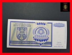 BOSNIA 10.000.000  10000000 Dinara  1993  P. 144  UNC - Bosnia And Herzegovina