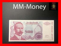 BOSNIA 5.000  5000 Dinara 1993  P. 152  UNC - Bosnia Erzegovina