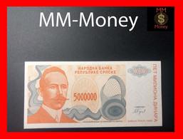 BOSNIA 5.000.000  5000000 Dinara  1993  P. 156  UNC - Bosnia And Herzegovina