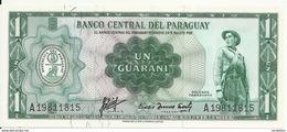 PARAGUAY 1 GUARANI L.1952 UNC P 193 A - Paraguay
