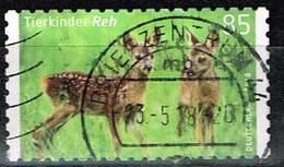 Bund 2018, Michel# 3377 O Tierkinder: Reh, Selbstklebend Aus Markenset - BRD