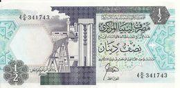LIBYE 1/2 DINAR ND1990 AUNC P 53 - Libye