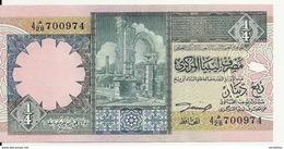 LIBYE 1/4 DINAR ND1991 UNC P 57 B - Libye