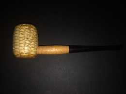Pipa Missouri Meerschaum Mai Fumata Made In USA - Pipes & Accessoires