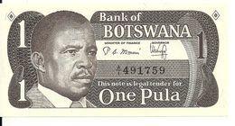 BOTSWANA 1 PULA ND1983 UNC P 6 - Botswana