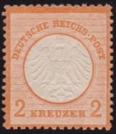 Deutsches  Reich   .    Michel   .  8       .   *     .  Ungebraucht Mit Gummi Und Falz  .  /   .   Mint-hinged - Ungebraucht