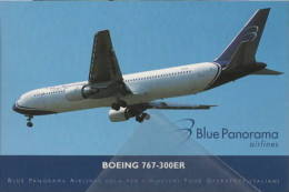 Blu Panorama Airlines ISSUE Boeing B767-3G5(ER) - 1946-....: Moderne