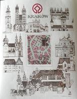Poland  1982 Cracow Monuments Restoration S/S - 1944-.... Republic