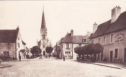 Cpa-03-villeneuve Sur Allier-la Place-edi Combier - Andere Gemeenten