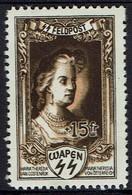 Belgien 1943 - Maria Theresia Von Österreich  - SS Feldpost - Royalties, Royals