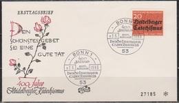 BRD FDC 1963 Nr.396 400 Jahre Heidelberger Katechismus ( D 6183 ) Günstige Versandkosten - BRD