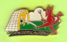 Pin's Mac Do McDonald's Kaiserslautern Football Diable - 1Q12 - McDonald's