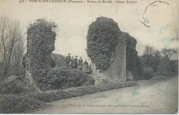 DPT 53 TORCE EN CHARNIE Mayenne Ruines De Bouillé Vieux Donjon CPA  BE - Otros Municipios
