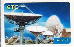 ETHIOPIA - Earth Station, ETC Prepaid Card 25 Birr, Exp.date 22/02/11, Mint - Ethiopië