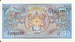 BHOUTAN 1 NGULTRUM ND1986 UNC P 12 - Bhoutan