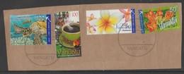 Vanuatu Fauna Flora 4 Stamps Used - Vanuatu (1980-...)