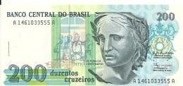 BRESIL 200 CRUZEIROS ND1990 UNC P 229 - Brazil